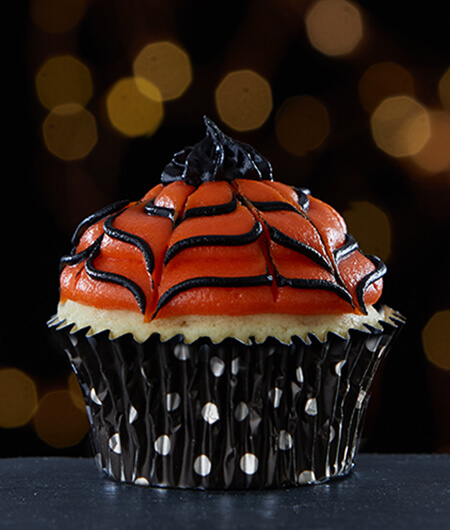 Halloween Spider Web Cupcakes Cake Mate