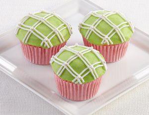 Classic Plaid Cupcakes