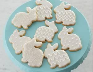 White Bunny Sugar Cookies