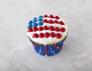 Flag Day Cupcakes
