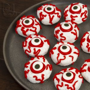 Giant Eyeball Donuts
