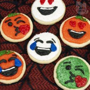 Hallo-moji Cookies