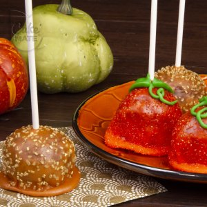 Donut Hole Pumpkin Pops