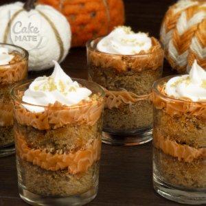 Pumpkin Spice Cake Shots