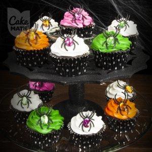 Elegant Spider Cupcakes