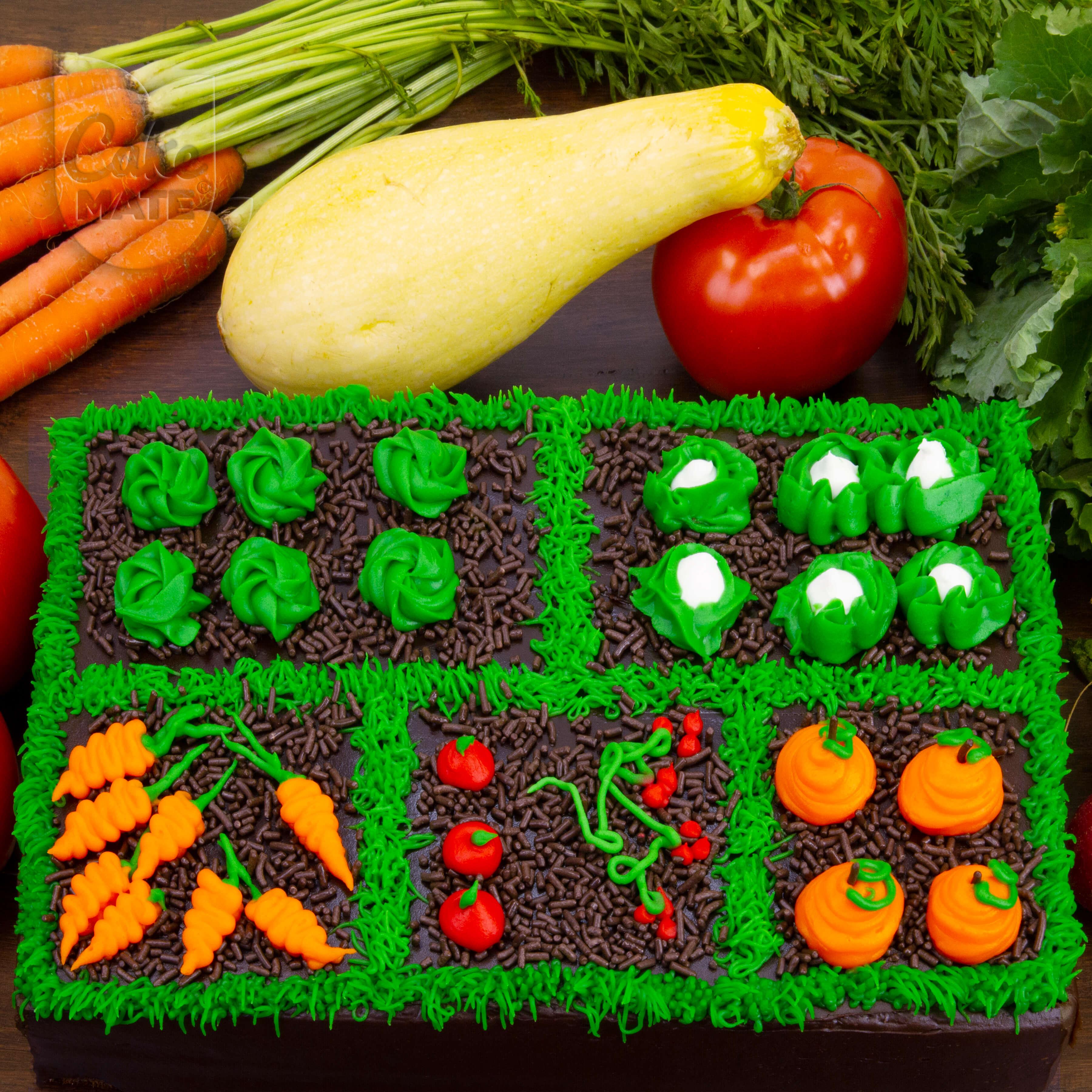 Vegetable Garden Cake   Cake Mate®